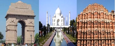 Tour Package - Golden Triangle Tour India - starting at USD 385 only