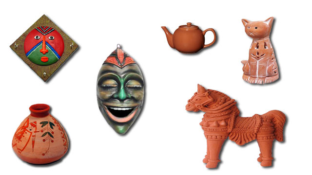 Assam (Terracotta works)