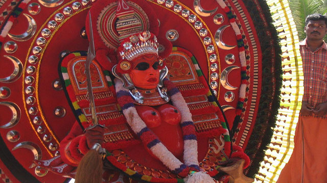 #4. Watch a Theyyam Performance