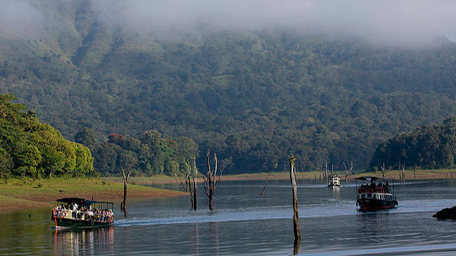 #3. Take a Boat-ride down the Periyar River