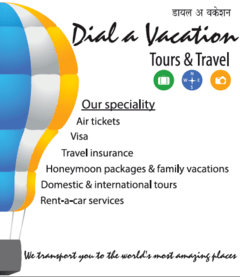 Dial A Vacation Tours And Travel Profile Reviews Ratings - Vacation tour and travel